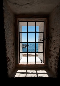 View from the lower window